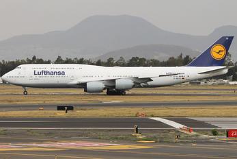 D-ABYG - Lufthansa Boeing 747-8