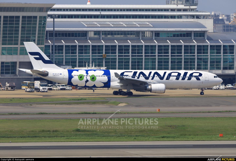 Finnair OH-LTO aircraft at Fukuoka