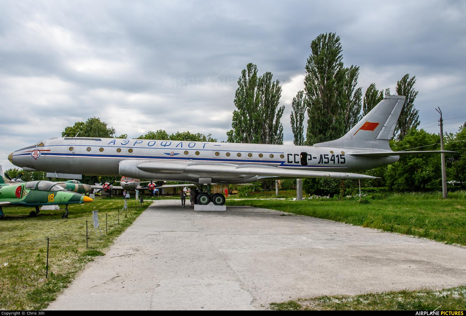 Aeroflot CCCP-L5415 aircraft at Kiev - Zhulyany