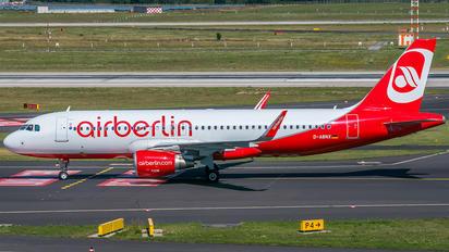 D-ABNX - Air Berlin Airbus A320