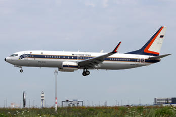 HS-HMK - Thailand - Air Force Boeing 737-800