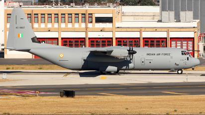 KC3807 - India - Air Force Lockheed C-130J Hercules