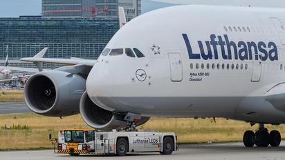 D-AIMK - Lufthansa Airbus A380