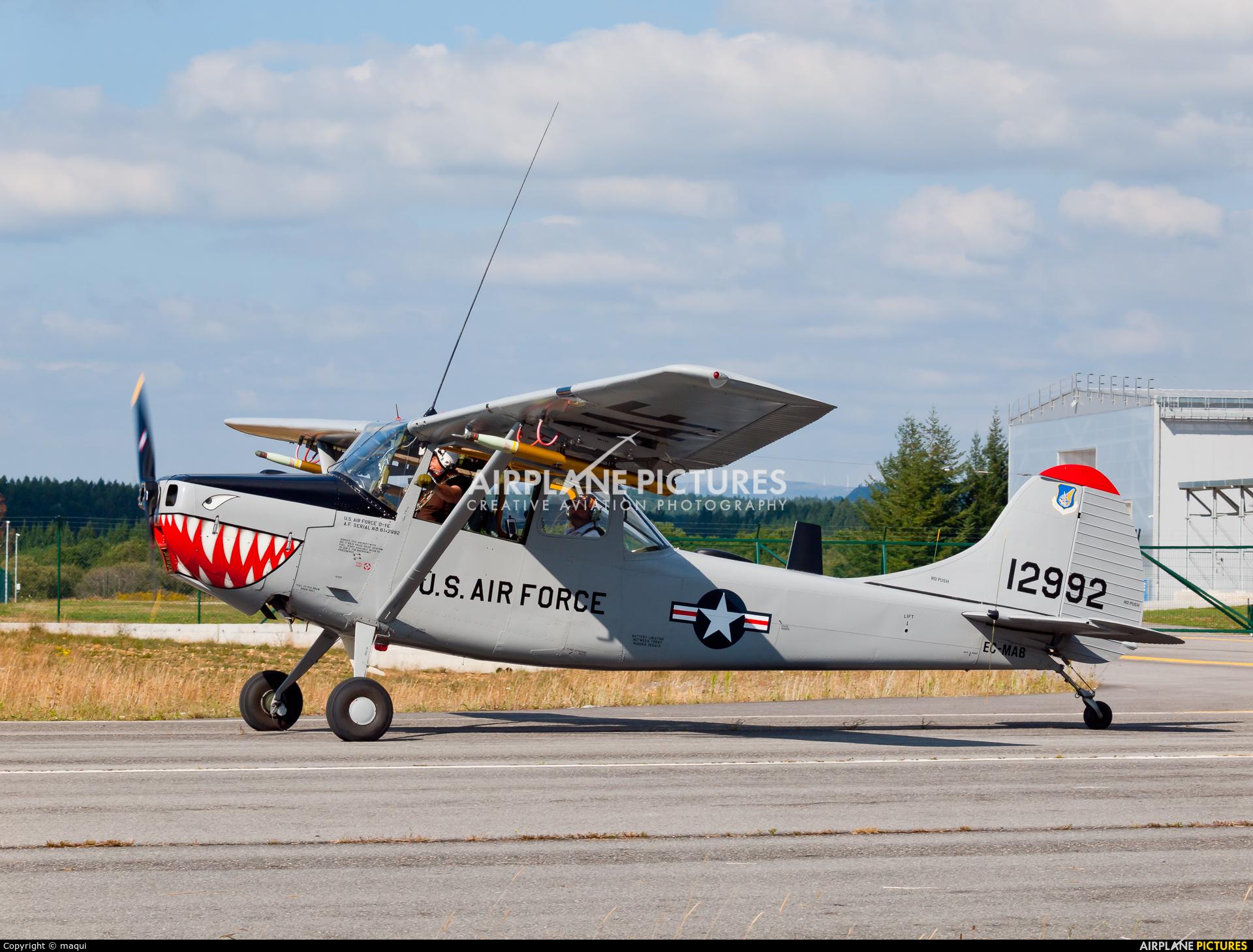Fundación Infante de Orleans - FIO EC-MAB aircraft at Lugo - Rozas