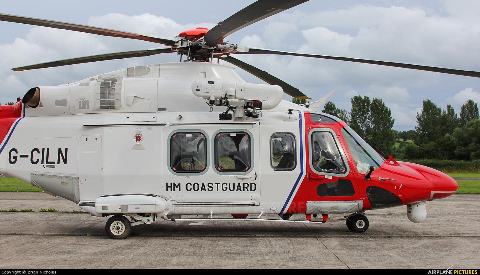 UK - Coastguard G-CILN aircraft at Welshpool