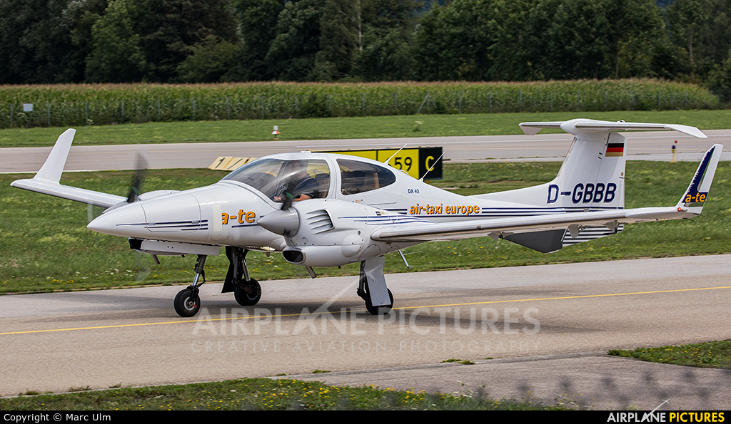 Private D-GBBB aircraft at Augsburg