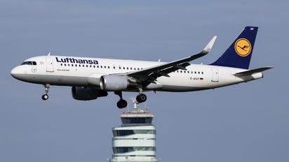 D-AIUP - Lufthansa Airbus A320