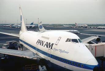 N530PA - Pan Am Boeing 747SP