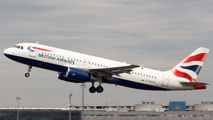 G-EUYK - British Airways Airbus A320 aircraft
