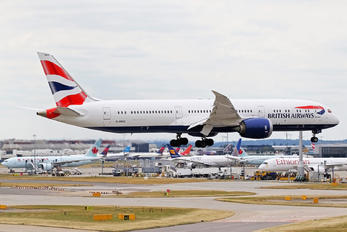 G-ZBKE - British Airways Boeing 787-9 Dreamliner