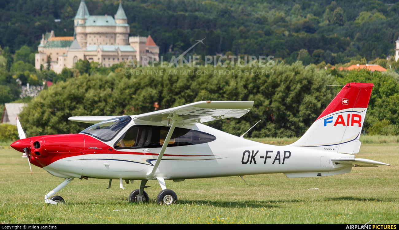 Aeroklub Benešov OK-FAP aircraft at Prievidza