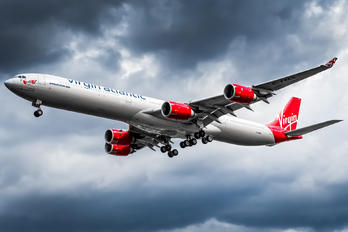 G-VWEB - Virgin Atlantic Airbus A340-600
