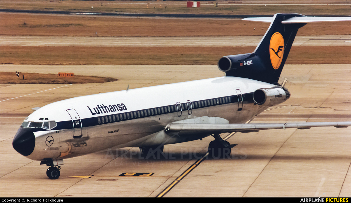 Van For Sale >> D-ABKI - Lufthansa Boeing 727-200 at London - Heathrow | Photo ID 943942 | Airplane-Pictures.net