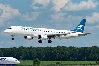 40-AOB - Montenegro Airlines Embraer ERJ-195 (190-200)