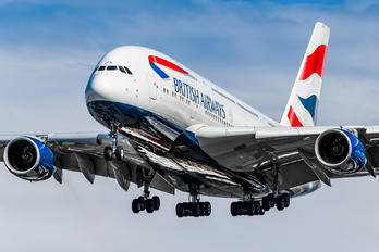 G-XLEK - British Airways Airbus A380