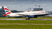 G-EUUB - British Airways Airbus A320 aircraft