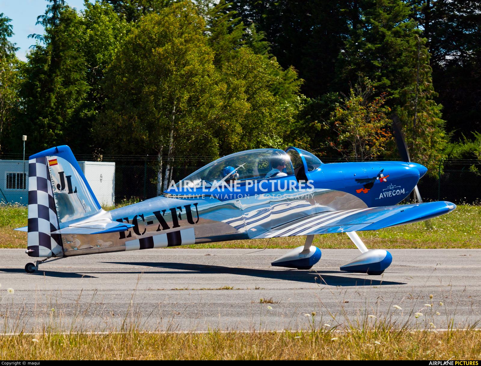 Private EC-XFU aircraft at Lugo - Rozas
