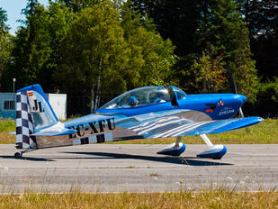 EC-XFU - Private Vans RV-8