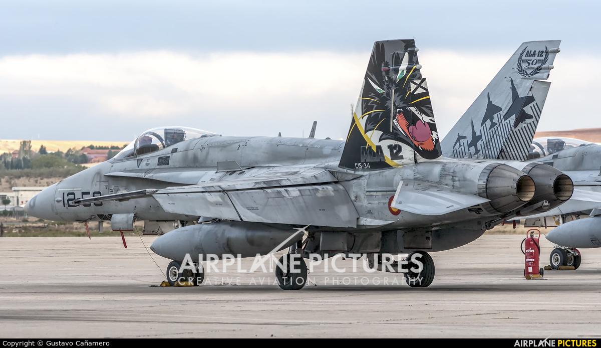 Spain - Air Force C.15-34 aircraft at Madrid - Torrejon