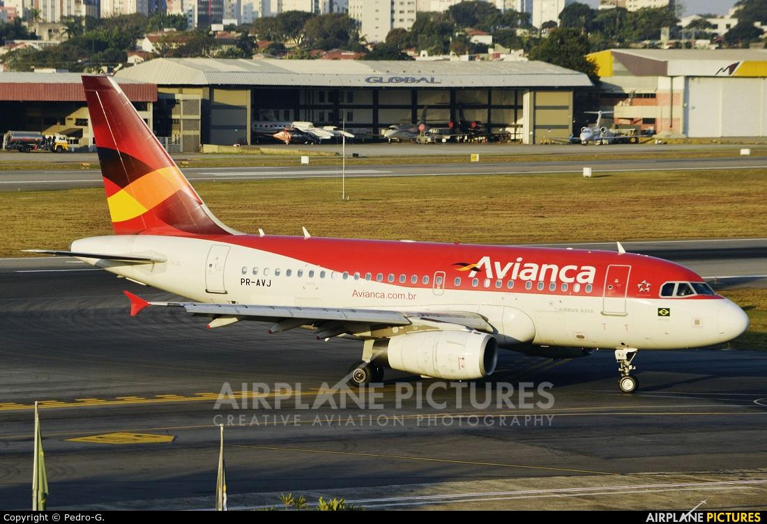 Avianca Brasil PR-AVJ aircraft at São Paulo - Congonhas