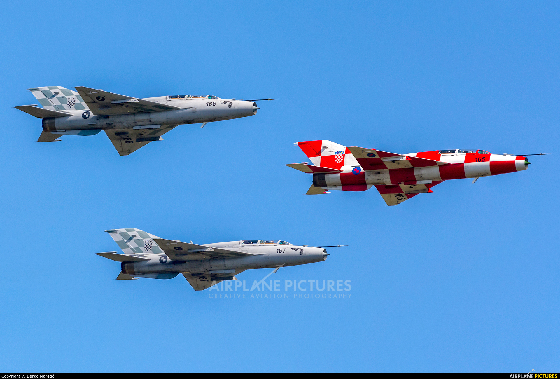 Croatia - Air Force - aircraft at In Flight - Croatia