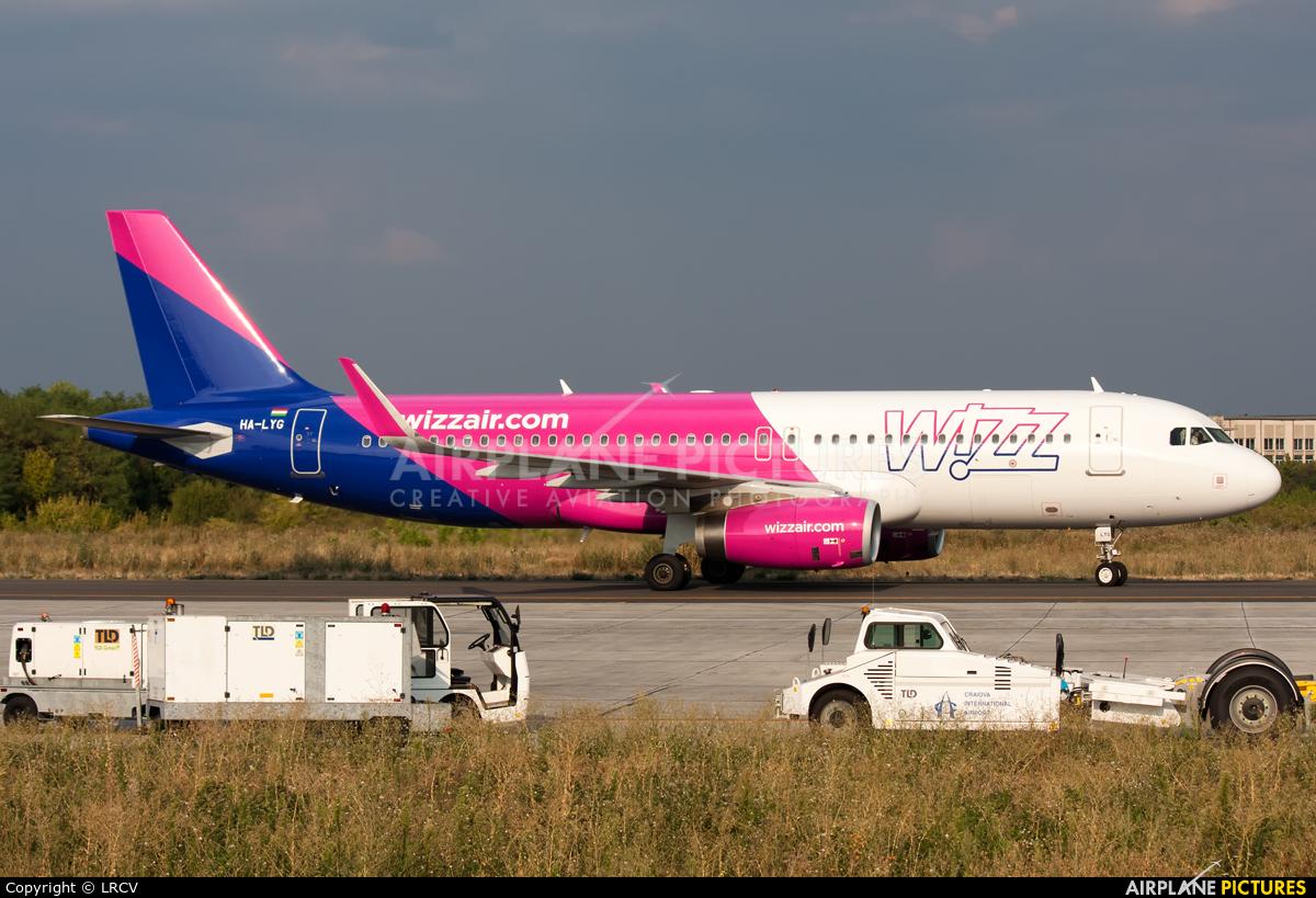 Wizz Air HA-LYG aircraft at Craiova