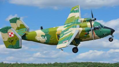 0204 - Poland - Air Force PZL M-28 Bryza