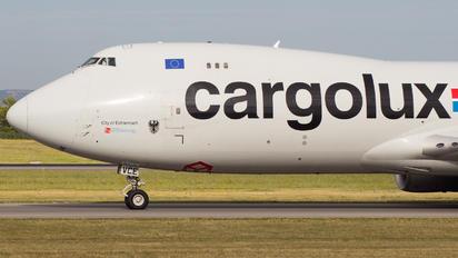 LX-VCE - Cargolux Boeing 747-8F