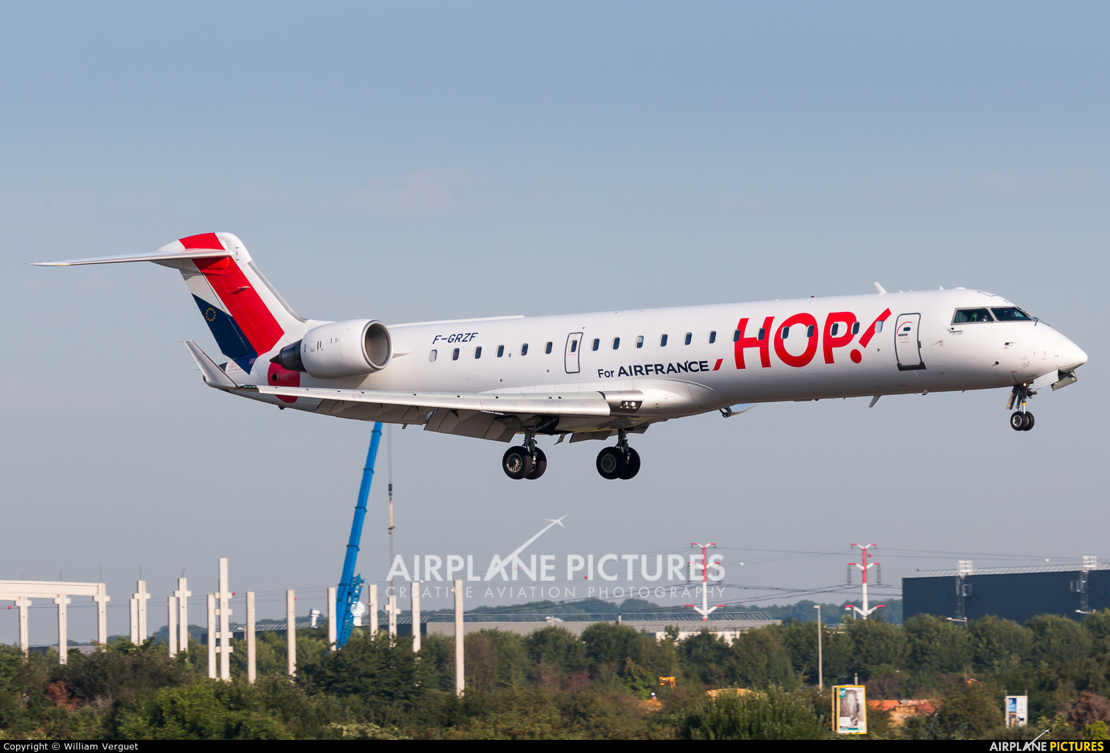 Air France - Hop! F-GRZF aircraft at Paris - Orly