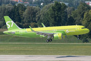 VQ-BCF - S7 Airlines Airbus A320 NEO aircraft
