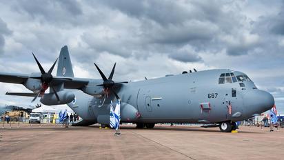 667 - Israel - Defence Force Lockheed C-130J Hercules