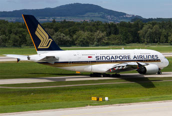 9V-SKT - Singapore Airlines Airbus A380