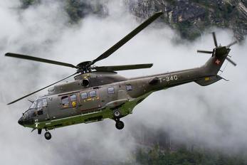 T-340 - Switzerland - Air Force Aerospatiale AS532 Cougar