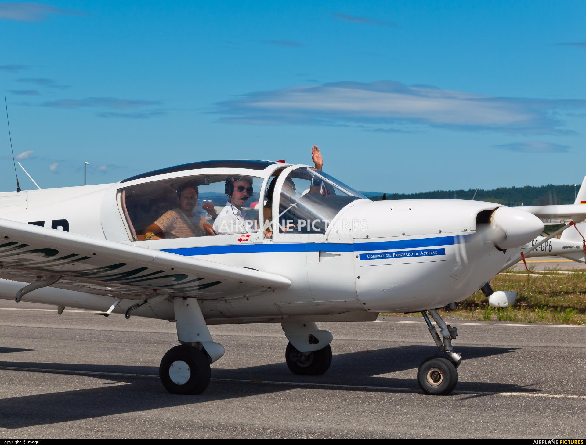 Private EC-CZB aircraft at Lugo - Rozas