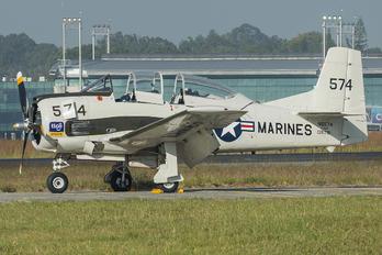 N8574 - Private North American AT-28D Trojan