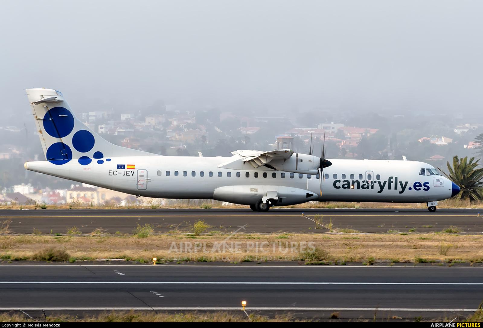 CanaryFly EC-JEV aircraft at Tenerife Norte - Los Rodeos