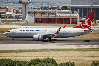 TC-JVP - Turkish Airlines Boeing 737-800
