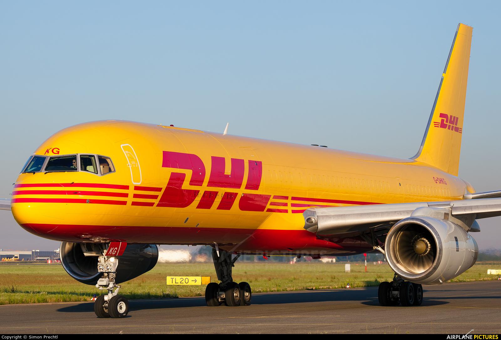 DHL Cargo G-DHKG aircraft at Linz