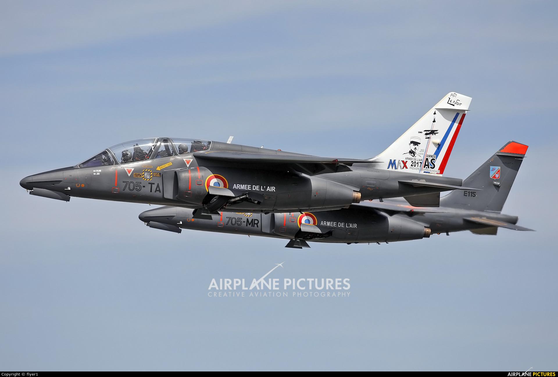 France - Air Force E42 aircraft at Fairford