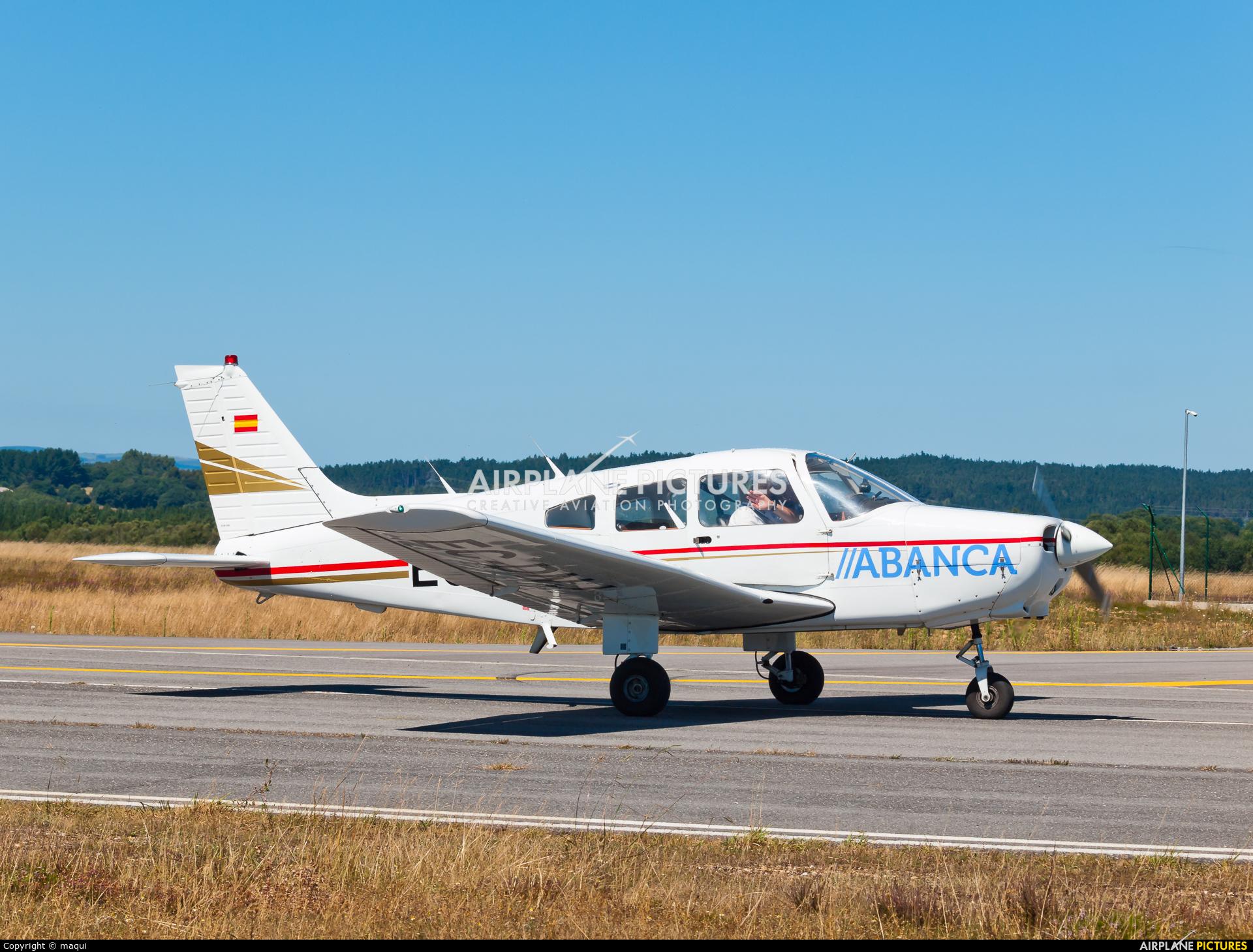 Real Aero Club de Santiago EC-DNJ aircraft at Lugo - Rozas