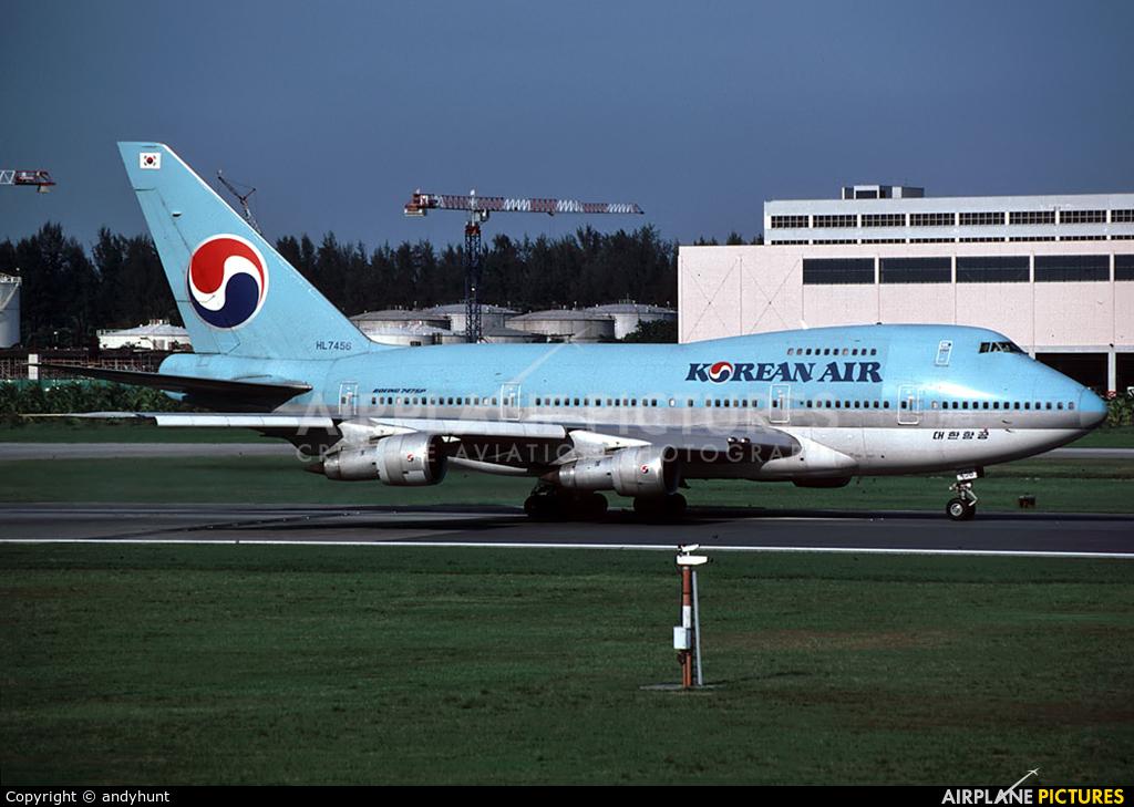 Korean Air - aircraft at
