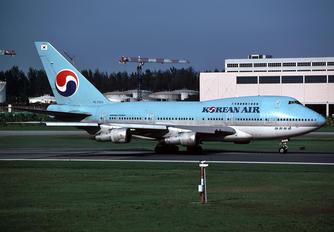 - - Korean Air Boeing 747SP