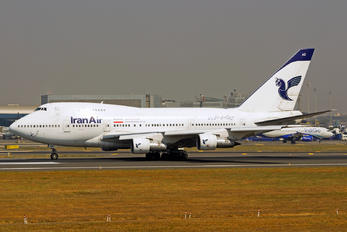 EP-IAC - Iran Air Boeing 747SP