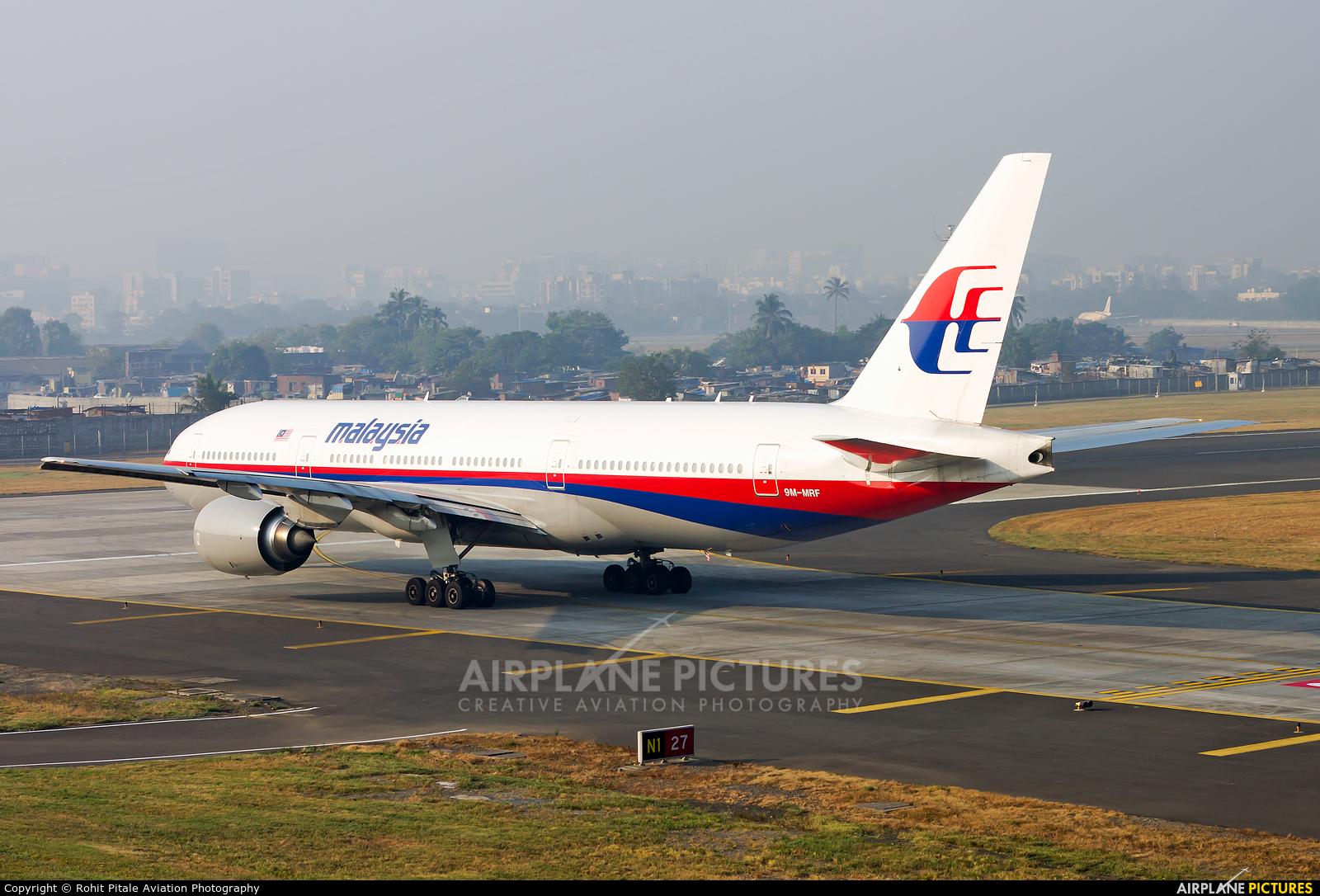 Malaysia Airlines 9M-MRF aircraft at Mumbai - Chhatrapati Shivaji Intl