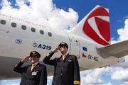 OK-MEL - CSA - Czech Airlines Airbus A319 aircraft
