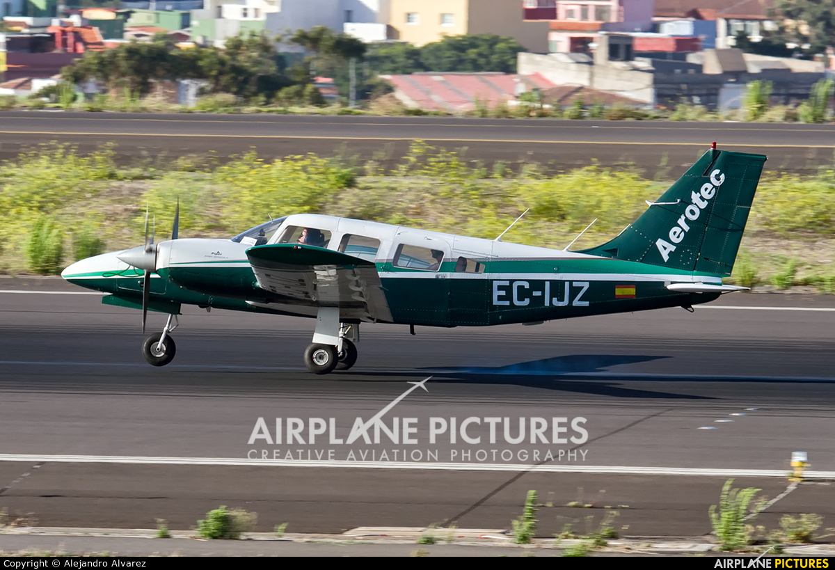Aerotec Flight Training EC-IJZ aircraft at Tenerife Norte - Los Rodeos