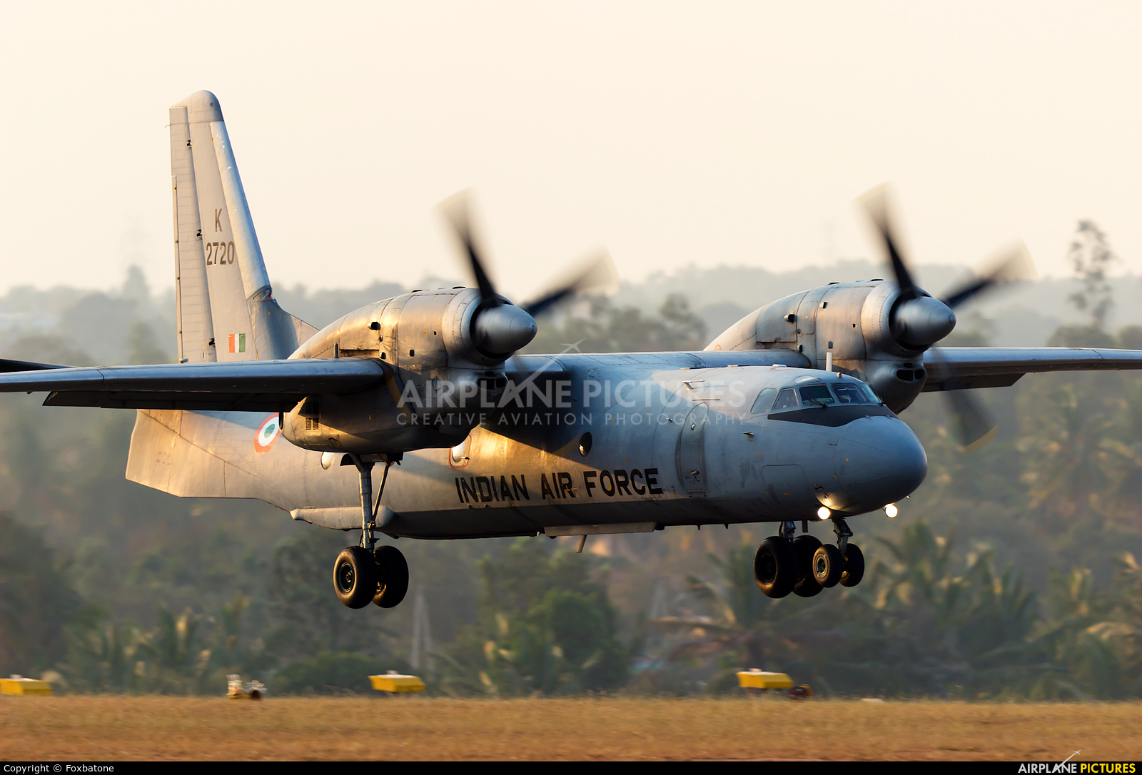 India - Air Force K2720 aircraft at Yelahanka AFB
