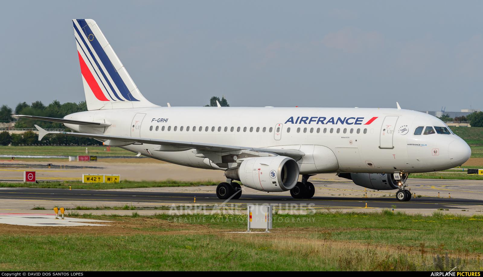 Air France F-GRHI aircraft at Paris - Orly