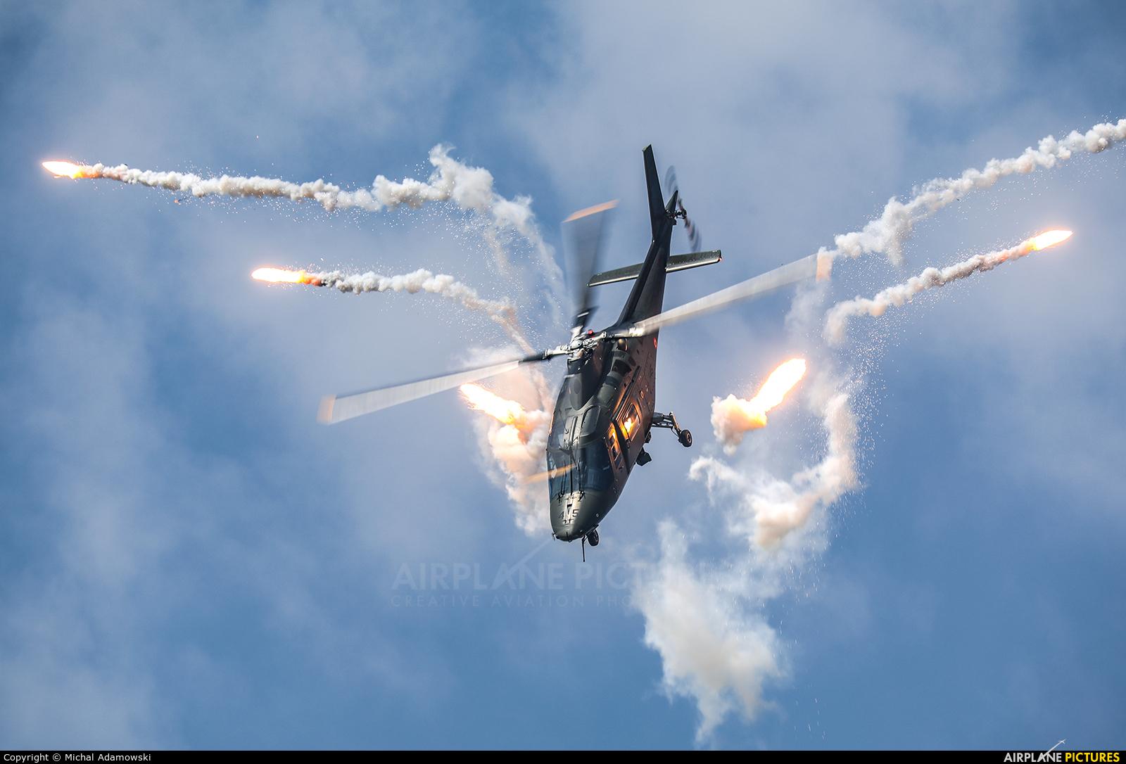 Belgium - Air Force H45 aircraft at Sliač