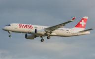 HB-JCC - Swiss Bombardier CS300 aircraft